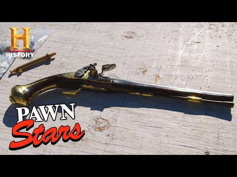Pawn Stars: Rick's Massive Profit From a Pistol Restoration (Season 16) | History