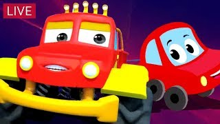Video Little Red Car | Car Stories And Videos For Kids MP3, 3GP, MP4, WEBM, AVI, FLV Juli 2018