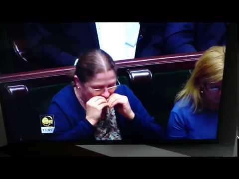 Tak się zachowuj poseł na Sejm RP…
