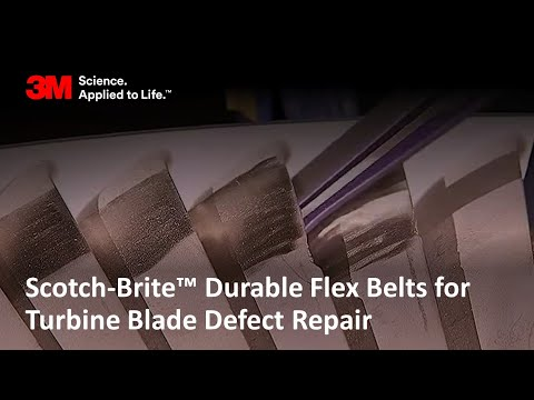 Scotch-Brite™ Durable Flex Belts and Turbine Blades