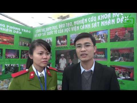 Ngày hội Tư vấn Tuyển sinh 09.03.2014 - Học viện Cảnh sát Nhân dân
