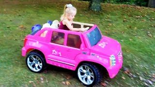 Video Playing in the Park on the Pirate Ship Playground for Kids W Pink Car  Baby Alive Snackin Sara Doll MP3, 3GP, MP4, WEBM, AVI, FLV Oktober 2017