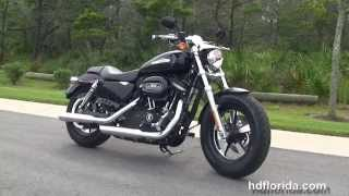 4. Used 2012 Harley Davidson Sportster 1200 Custom Motorcycles for sale -- Ocala, FL