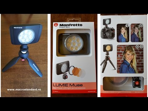 Lampa LED Manfrotto Lumie MUSE