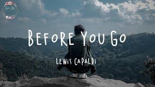 before you go lyrics lewis capaldi