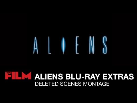 Aliens (1986) Blu-ray Extras - Deleted Scenes Montage