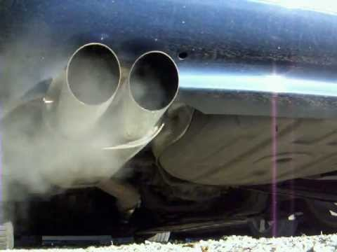BMW E46 318Ci with Bastuck end muffler & straight pipe