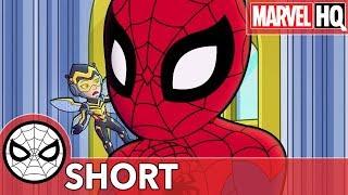 Spidey & The Wasp Ruin Rhino's Rampage! | Marvel Super Hero Adventures - Stomp and Listen | SHORT