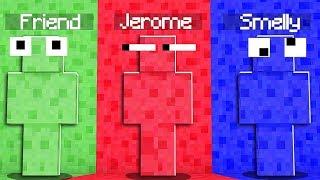 Extreme Camo PRANK Hide And Seek - Minecraft Modded Minigame | JeromeASF