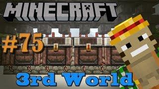 Simple Sorting Machine! - Minecraft 3rd World LP #75