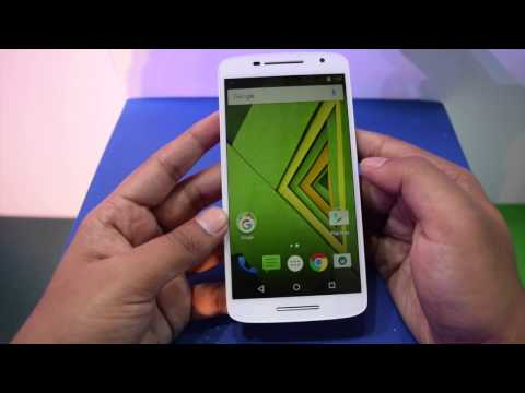 Moto X Play India Unboxing and hands-on overview