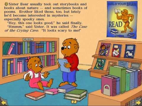 Playthrough: The Berenstain Bears in the Dark - Part 1