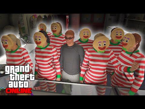 GTA V Online - ps3 - Gingerbread Man Army, X-mas Special!