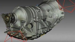 דוגמא לסריקת מנוע של רכב