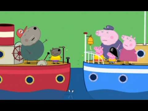 Prasátko Pepa - Dědečkova loď