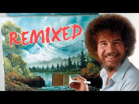 ross - Watch more videos here: http://www.youtube.com/pbsdigitalstudios If you like this, support your local PBS station: http://www.pbs.org/donate Bob Ross remixed...