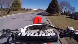 9. 2011 Honda CFR 250R Street Review:srkcycles.com