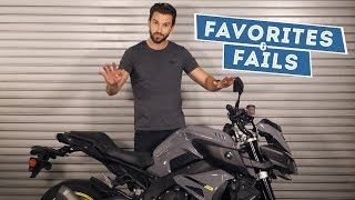 4. 2017 Yamaha FZ-10 (MT-10) - Favorites & Fails