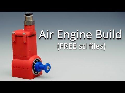 3D Printed Air Engine BUILD