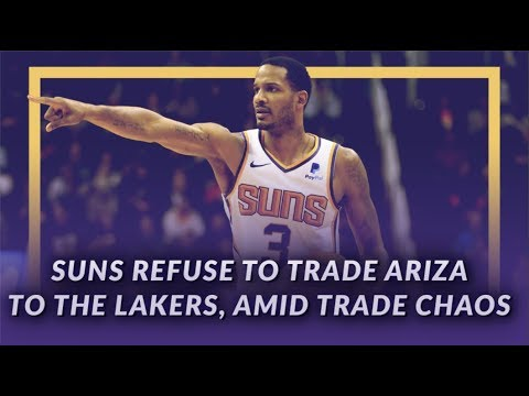 Video: Lakers News Feed: Suns Refuse to Trade Trevor Ariza to the Lakers, Amid Trade Chaos