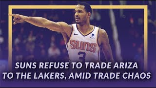 Lakers News Feed: Suns Refuse to Trade Trevor Ariza to the Lakers, Amid Trade Chaos by Lakers Nation