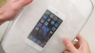 Dipping an iPhone 6 in Hot Ice Freeze Test!