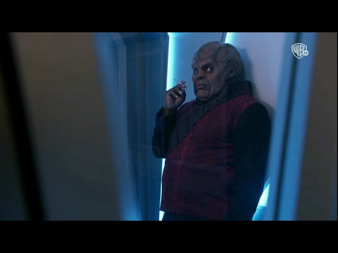 3/4 Bortus hides cigarets and klyden smokes in secret - The Orville