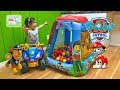 Giant Paw Patrol Surprise Toys Ball Pit Tent & Nick Jr Paw Patrol Surprise Egg Opening Toy Review