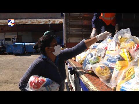 Llegaron a Paysandú las 2.000 canastas donadas por Nicolás Lodeiro