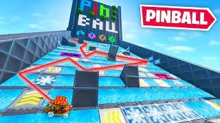 We built a PINBALL MACHINE in Fortnite