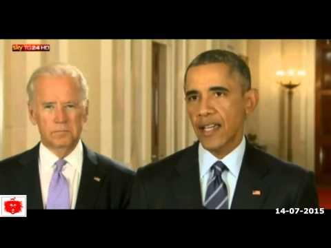 iran accordo sul nucleare conferenza stampa di barack obama 14-07-2015