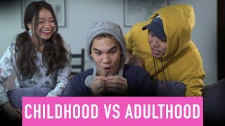 Video Childhood VS Adulthood MP3, 3GP, MP4, WEBM, AVI, FLV Juni 2019