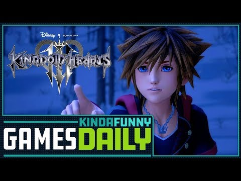 Director Responds to Kingdom Hearts III Leaks - Kinda Funny Games Daily 12.17.18