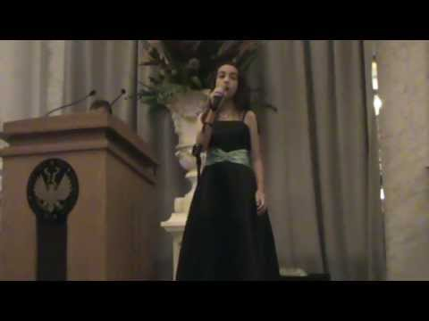 lisa - Lisa Dias, Brazilian-American child, age 11. She sang the 2nd song at the 40th Anniversary of the Florida House at the Library of Congress in Washington D.C....