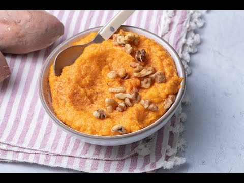 How To Make Whipped Sweet Potatoes with Coconut – Thanksgiving Recipes – Weelicious