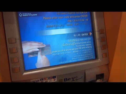 Bangkok BTS + Grube prowizje za wypłatę w bankomacie ATM - Bangkok VLOG #29
