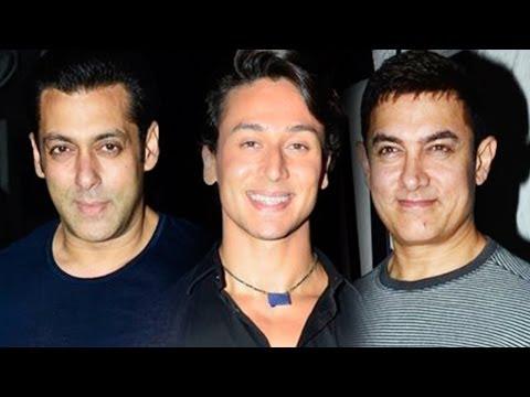 Tiger Shroff Celebrates Heropanti With Salman Khan