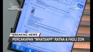 "Video Isi ""WhatsApp"" Ratna ke Fadli Zon: Dari Kirim Foto Wajah Lebam Hingga Minta Dana MP3, 3GP, MP4, WEBM, AVI, FLV Juli 2019"