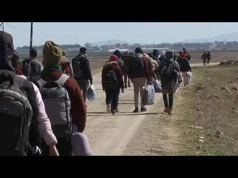 «Απετράπη η είσοδος στην Ελλάδα από 26.532 άτομα μέσω του Έβρου»…