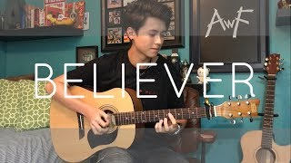 Video Imagine Dragons - Believer - Cover (Fingerstyle Cover) MP3, 3GP, MP4, WEBM, AVI, FLV Agustus 2018