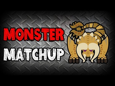 MONSTER MATCHUP - Diablos (Monster Hunter: World)