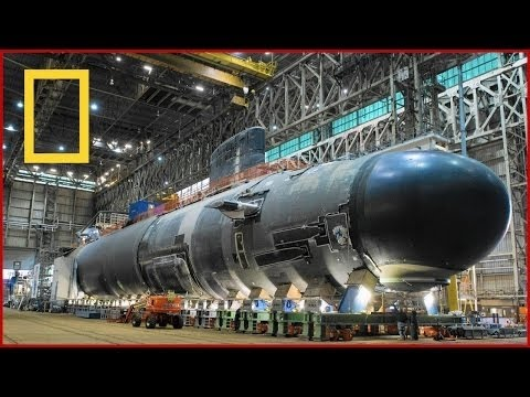 BBC Documentary - Super Sub USS Submarines Ultimate Structures -National Geographic