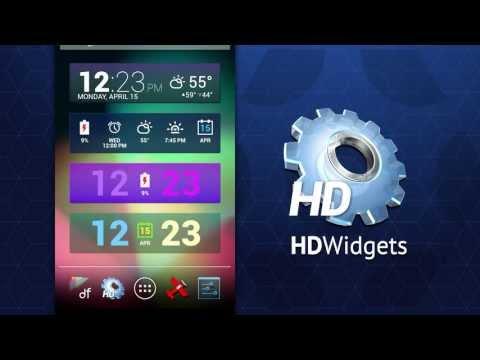Video of HD Widgets