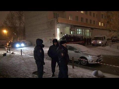 Αγία Πετρούπολη: Εκρηκτικός μηχανισμός εξερράγη στα χέρια νεαρού