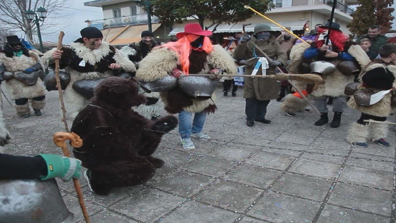 Εντυπωσίασε το «κλέψιμο της αρκούδας» στο Αγναντερό