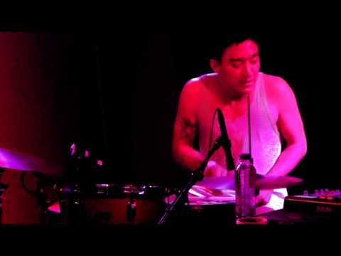 And even more amazing drumming @Incubated_/@013 last night by @__SHIGETO [video]