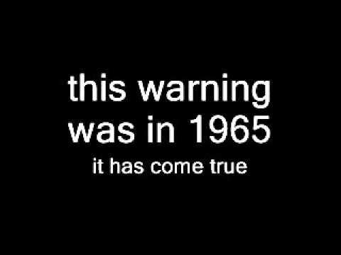Warning from 1965