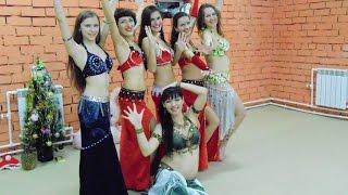 Восточные танцы - урок Bellydance
