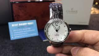 Đồng hồ nữ Charmex Swiss made mặt xà cừ - Mẫu đồng hồ nữ từ thương hiệu Charmex của Thụy Sỹ - Vỏ thép không rỉ với mặt...