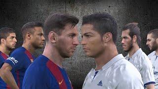 PES 2017 - Speed Battle - Messi, Suarez & Neymar (MSN) vs Bale, Benzema & Ronaldo (BBC) Video based on this video idea: https://www.youtube.com/watch?v=NW7JG...